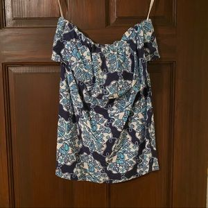 Lilly Pulitzer Strapless Top - 100% Cotton